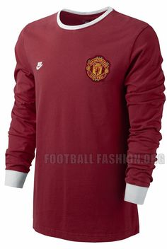Manchester United Nike Covert Vintage Throwback Shirt