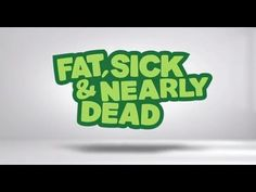 "Watch Joe the Juicer embark on a juice fast across the US in the full-length documentary ""Fat, Sick & Nearly Dead"" online for free for a limited time only!"