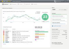 invoice customer dashboard - Google Search