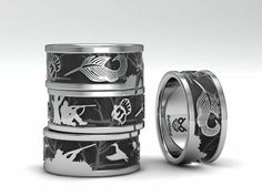 Duck and turkey hunting ring. Made exclusively by www.duckbandbrand.com Jewelry made by hunters, for hunters. If it's not Duck Band Brand, it's just a cheap imitation. All bands are custom made to order. Please feel free to email duckbandbrand@gmail.com.  to order call Mon-Fri 10am to 6pm at 618-833-0655. Thanks!