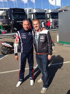 Quick hello with Tom Coronel: A dutch WTCC driver for BMW Roal Motorsport