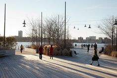 Hudson River Park/ Michael Van Valkenburgh Associates, Inc.