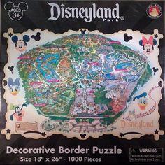 Disneyland Theme Park 1000 Piece Jigsaw Puzzle - Theme Park Exclusive