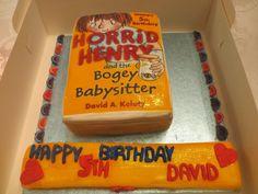 Horrid Henry Birthday Cake for David's 5th Birthday