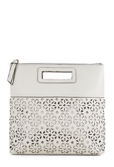 You're ready for action with this cute clutch, Handle It by JustFab.
