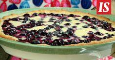 Maailman paras mustikkapiirakka on tehty mummon ohjeella. Pie Recipes, Recipies, Swedish Recipes, Sweet Pie, Acai Bowl, Tart, Food And Drink, Gluten, Pudding