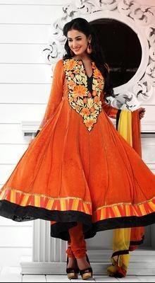 Pleasing Sonal Chauhan Anarkali Suit