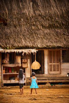 village life at Java by PerttiS