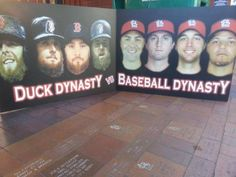 Duck Dynasty and Baseball Dynasty; St. Louis Cardinals and Boston Red Sox; 2013 World Series