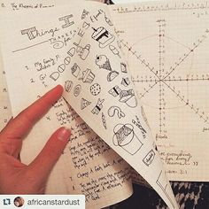 This is what I love most about the Bullet Journal how everyone can make it their own and fill it up with anything and everything their heart desires. Look at all of these neat peeks at @africanstardust's bujo. The balanced lifestlye chart looks especially intriguing!  by tinyrayofsunshine