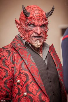 Sophisticated Devil #Makeup #Cosplay | Galaxy Fest 2014