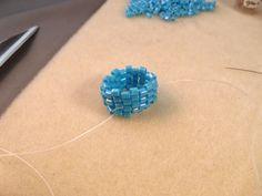 Beading Stitches Used to Make Beaded Ropes: Tubular Odd Count Peyote