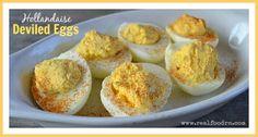 Hollandaise Deviled Eggs