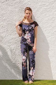 Floral Tops, Jumpsuit, Panel, Spring, Dresses, Clothing, Women, Fashion, Sleep Dress