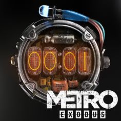 Nixie Tube Watch, Metro Last Light, Metro 2033, Post Apocalyptic Costume, Beyond Good And Evil, Laser Cutter Projects, Shoulder Armor, Adventure Gear, Retro Futurism