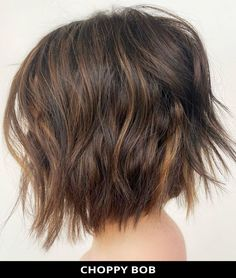 For your next hair appointment, ask for this popular Choppy Bob Hairstyle that's on-trending right now! Click here to see all of the 49 marvelous choppy bob hairstyles for an attractive style. // Photo Credit: @shmoakin_hair on Instagram Choppy Bob Hairstyles, Latest Hairstyles, Easy Hairstyles, Choppy Cut, Long Hair Styles, Photo Credit, Popular, Beauty, Instagram