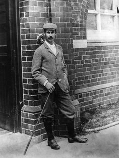 """Harry Vardon was often called """"The Greyhound"""" for his ability to gain ground when coming from behind in match play.,  Golf Phuket.. www.phuketgolfleisure.com"""