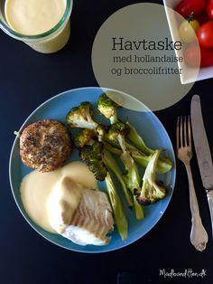 Ovnbagt havtaske med hollandaise og broccolifritter --> Madbanditten.dk Lchf, Broccoli, A Food, Paleo, Dinner, Vegetables, Recipes, Danish, Drinks