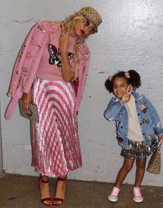 Beyoncé & Blue Ivy in New York City (Oct. 3rd, 2016)