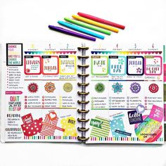 in my rainbow spread. I'll be sorry to see this one go! ❤️… in my rainbow spread. I'll be sorry to see this one go! Planner Layout, Goals Planner, Planner Ideas, Planner Doodles, Mini Happy Planner, Happy Teacher Planner, Planner Decorating, Decorating Ideas, Videos Tumblr