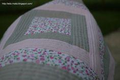 edu-mata: Moja pierwsza patchworkowa poduszka!
