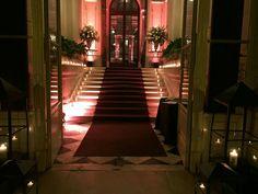 Entrada al Palacio, Bienvenidos!.Fiesta de 15 Organizada por Maria Ines Novegil Event Planners en Palacio Sans Souci.