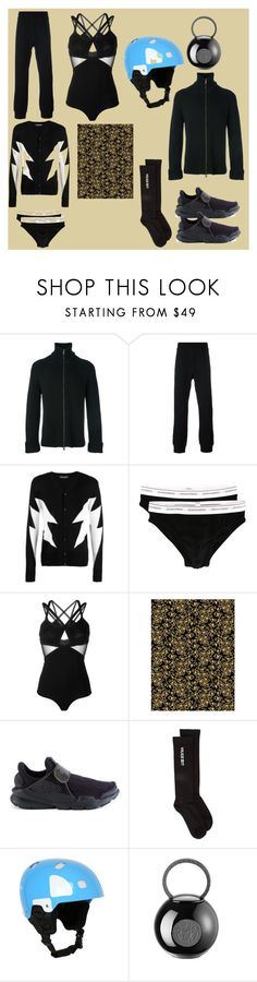 """""""Life is Like"""" by denisee-denisee ❤ liked on Polyvore featuring Maison Margiela, Versace, Neil Barrett, Dsquared2, Elie Saab, NIKE, Rick Owens, POC and vintage"""