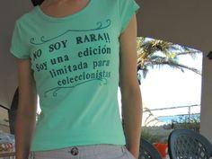 DIY – Tutorial mensaje en una camiseta de Momita DIY