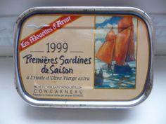 Boîte de sardines Concarneau Saison 1999 Mouettes d' Ar...