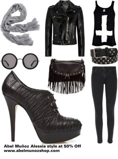 """I love Rock 'n' Roll"" by abelmunozaccessories ❤ liked on Polyvore"