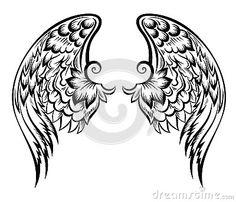Wings.Tatoo design