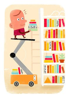 Bibliophile by Ben Aslett, via Flickr