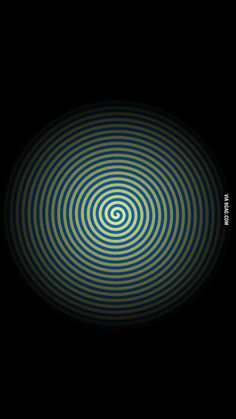 Move your phone far from you you will see it black and white, get closer see it blue and yellow - 9GAG