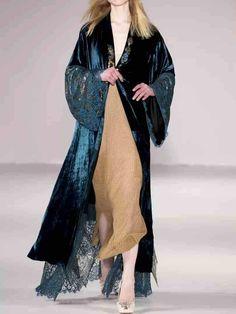 Abaya Fashion, Kimono Fashion, Boho Fashion, Womens Fashion, Fashion Trends, Punk Fashion, Lolita Fashion, Abaya Style, Fashion Vestidos