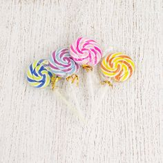 Lollipop Erasers - 4 Pcs from My Party Store