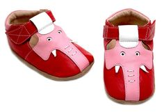 Livie and Luca Elephant Baby Shoe 18-24m - BittyBirdieBoutique.com $24.99 gonna check to see if it comes in boys colors