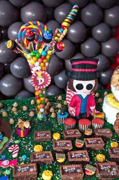 aniversario a fantastica fabrica de chocolate - Pesquisa Google