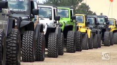 GOT TREAD???? WHA WHA WHA WHA WHA WHA...... the soothing hum of knobby tires in motion. Music to my ears.