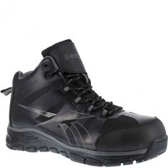 3ab21b6a4c3685 RB4513 Reebok Men s Seamless Safety Shoes - Black www.bootbay.com