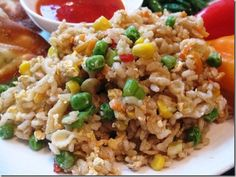 Vegetable Fried Rice, 8 points+, 100% Simply Filling