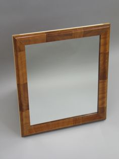 Mahogany Mirror  Love the wood grain - brings out the character of the wood