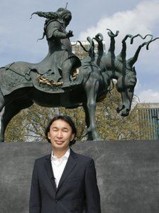 Genghis Khan sculpture unveiled at Marble Arch