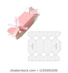Box Template: imagens, fotos e vetores stock | Shutterstock Paper Crafts Origami, Origami Box, Paper Crafting, Diy Gift Box, Diy Gifts, Paper Box Template, Box Templates, Printable Box, Box Patterns