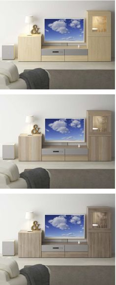 Our BESTÅ storage system will help you find a place for it all - gaming, online movies, internet browsing and more. There is a variety of door styles and colors to choose from, so finding something to suit your taste is easy.