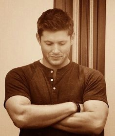 How I would love those gorgeous, strong arms around me.
