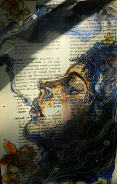 visual art applied to the pages of books