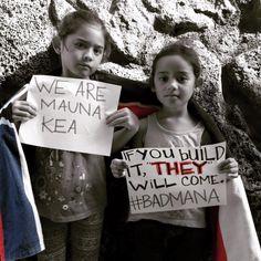 Stand for Mauna Kea