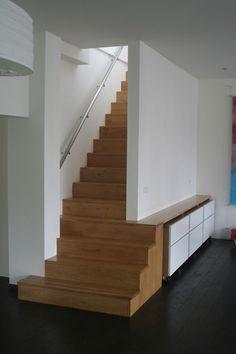 Inspiratie elmi interieur en meubelontwerp #trap #kast #maatwerk  www.elmijansen.nl
