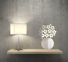 Moderné nalepovacie zrkadlá do interiéru kvety vo váze Wall Lights, Lighting, Home Decor, Appliques, Decoration Home, Room Decor, Lights, Home Interior Design, Lightning