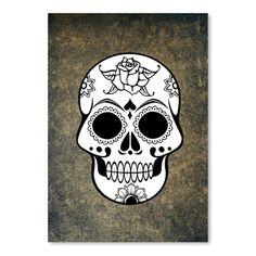 "East Urban Home Fantasy Skull Horror Design Graphic Art Size: 14"" H x 11"" W"